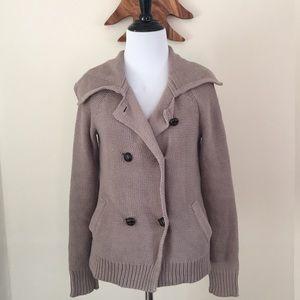 Comfy sweater jacket